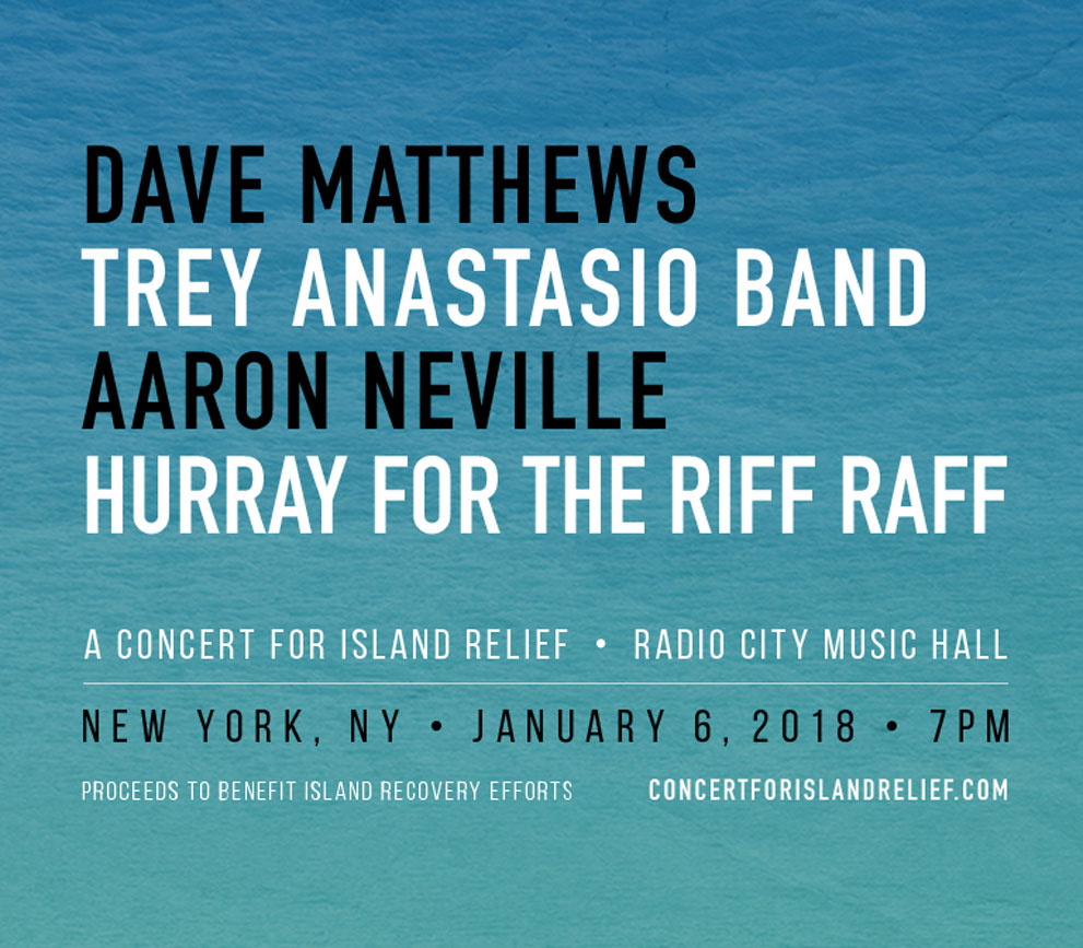 Concert for Island Relief