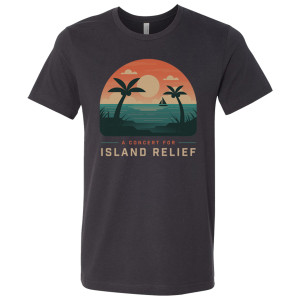 Concert for Island Relief Ocean Scene T-Shirt