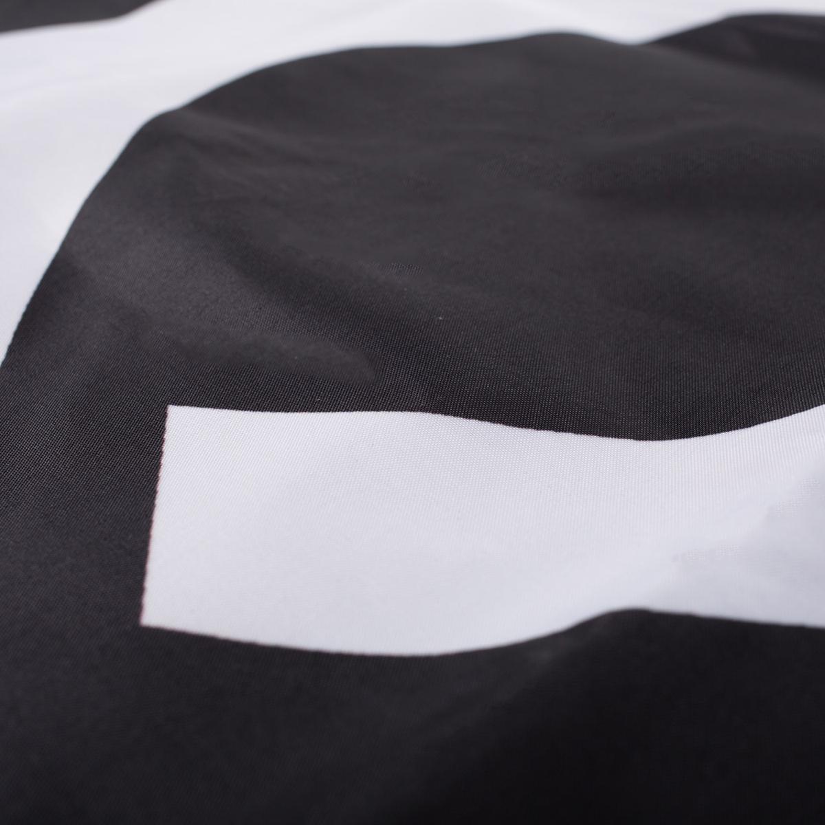 Logo Double-Sided Flag - Black/White