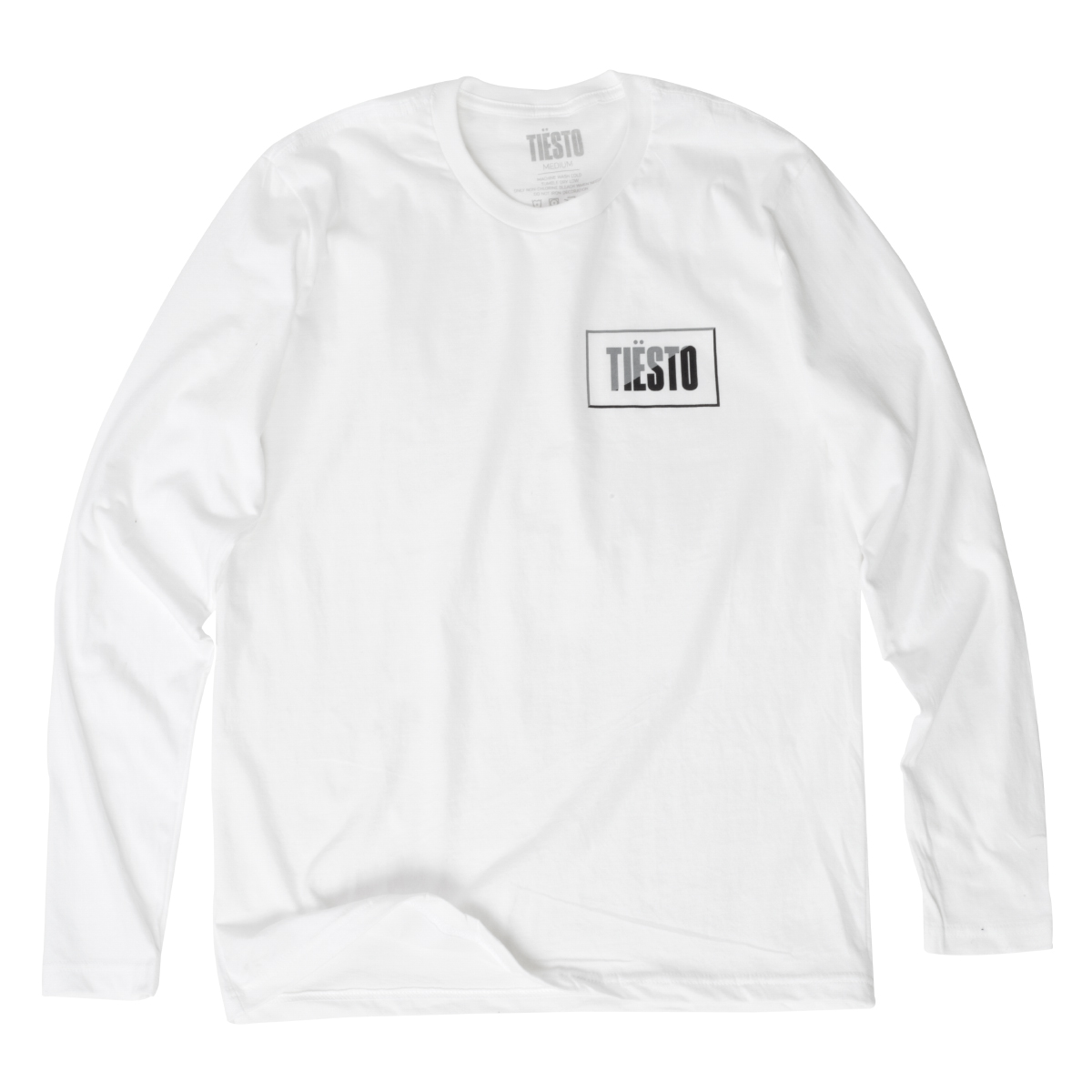 'RECTANGLE LOGO' LONG SLEEVE SHIRT