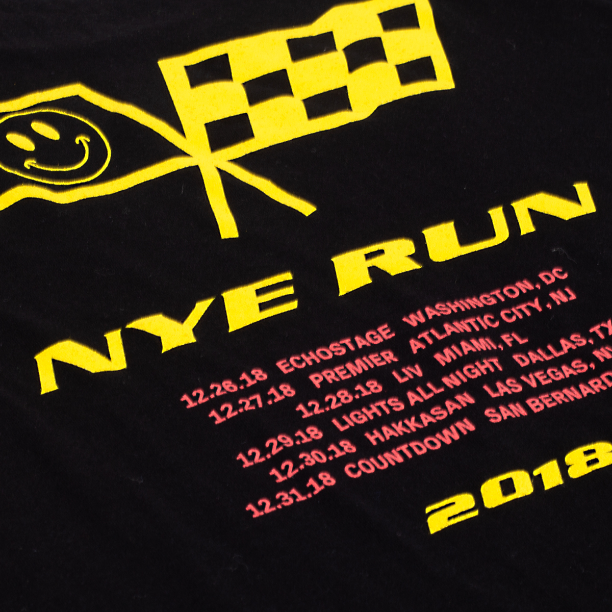 New Year's Run Dateback T-Shirt