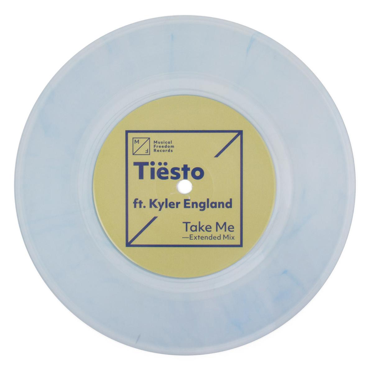 "Tiësto Ft. Kyler England 'Take Me' Single - 7"" Vinyl"