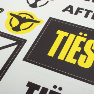 Tiësto Vinyl Sticker Sheet