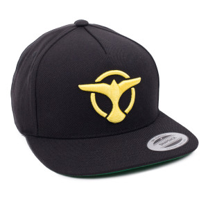 'Bird' Logo Snapback - Black/Yellow