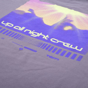 'Up All Night Crew' Longsleeve T-Shirt