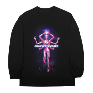 Mind Trip LS T-Shirt - Black