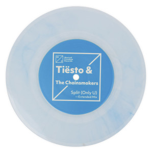 "Tiësto & The Chainsmokers 'Split (Only U)' Single - 7"" Vinyl"