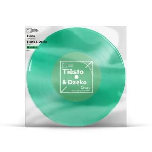 "Tiësto Clublife 5 China 'Crazy' / 'No Worries' Single - 7"" Vinyl"