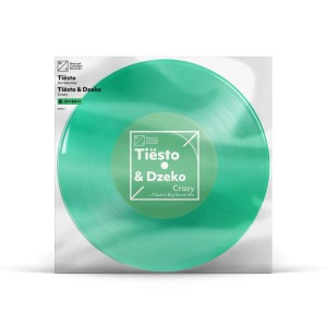 "Tiësto Clublife 5 China 'Crazy' / 'No Worries' Single - 7"" Vinyl"