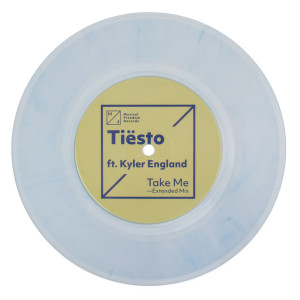 "Tiësto Ft. Kyler England 'Take Me' Single - 7"" Vinyl"