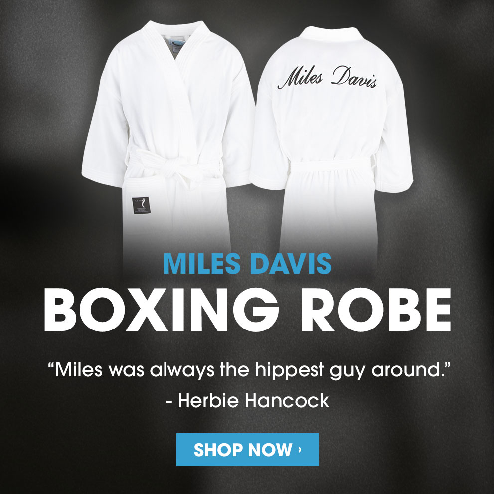 Miles Boxing Robe