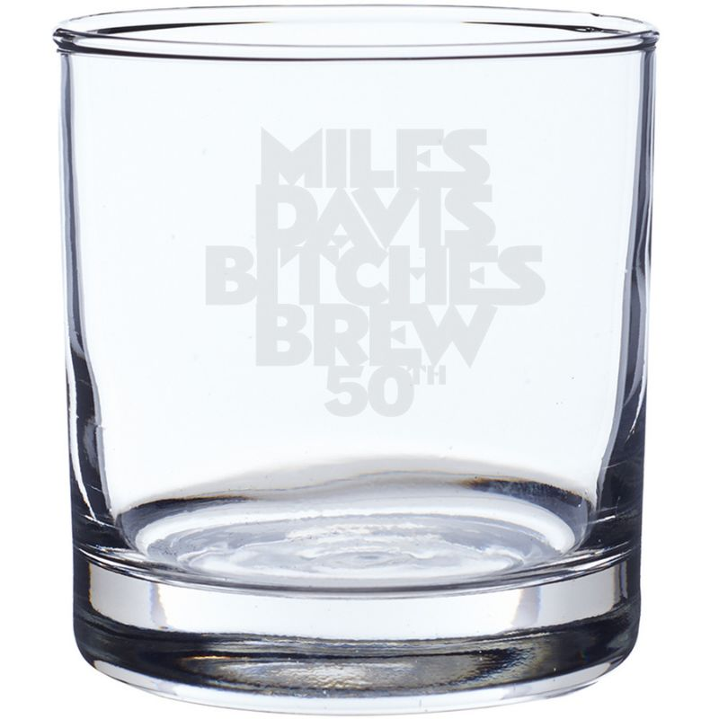 Bitches Brew 50 Laser-Etched Whiskey Glass