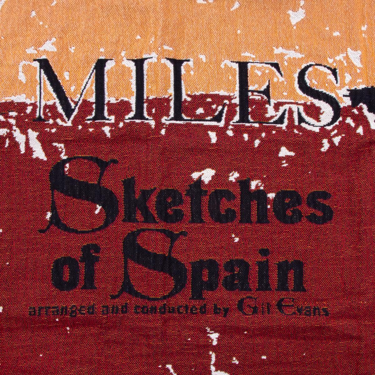 Miles Davis Sketches of Spain Throw Blanket