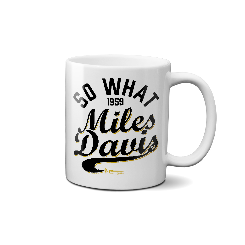 Miles Davis So What 1959 Coffee Mug