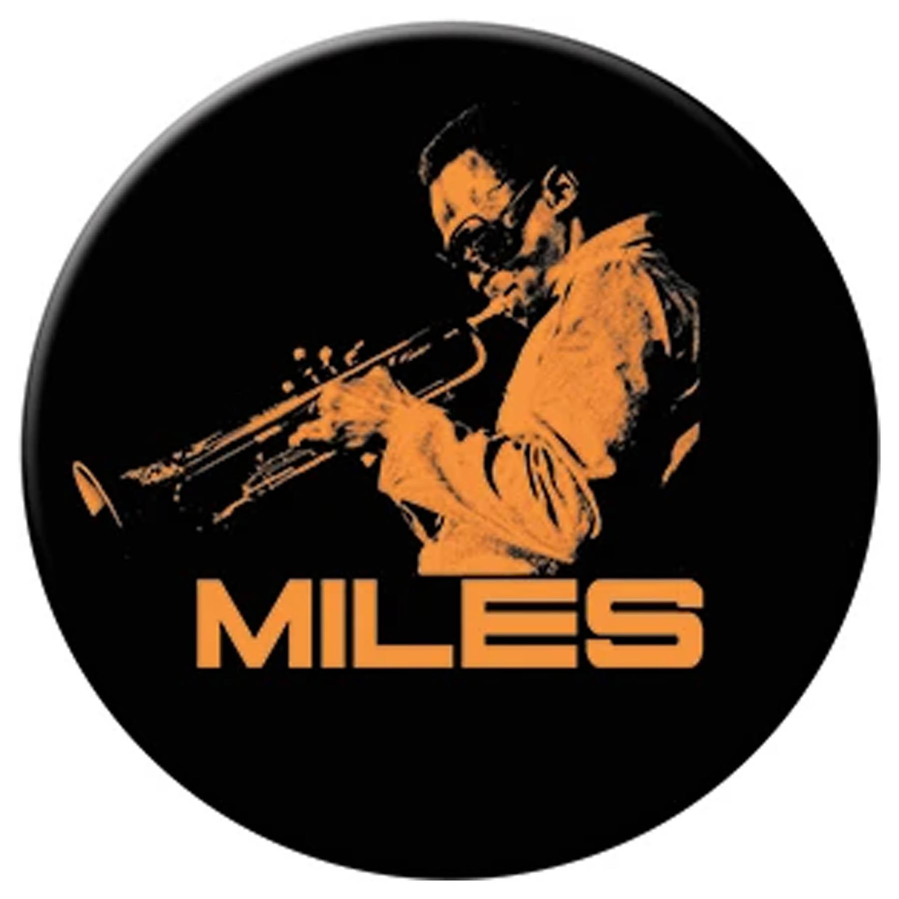 """Miles Davis Orange Trumpet 3"""" Magnet"""