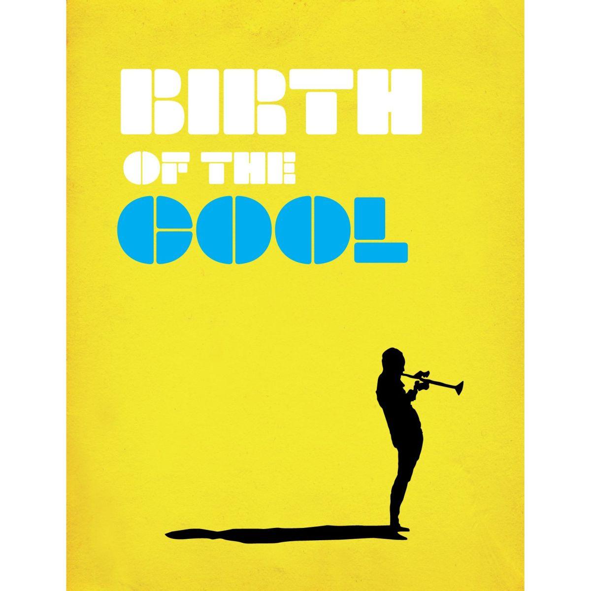 Miles Davis Birth of the Cool Silhouette Birthday Card