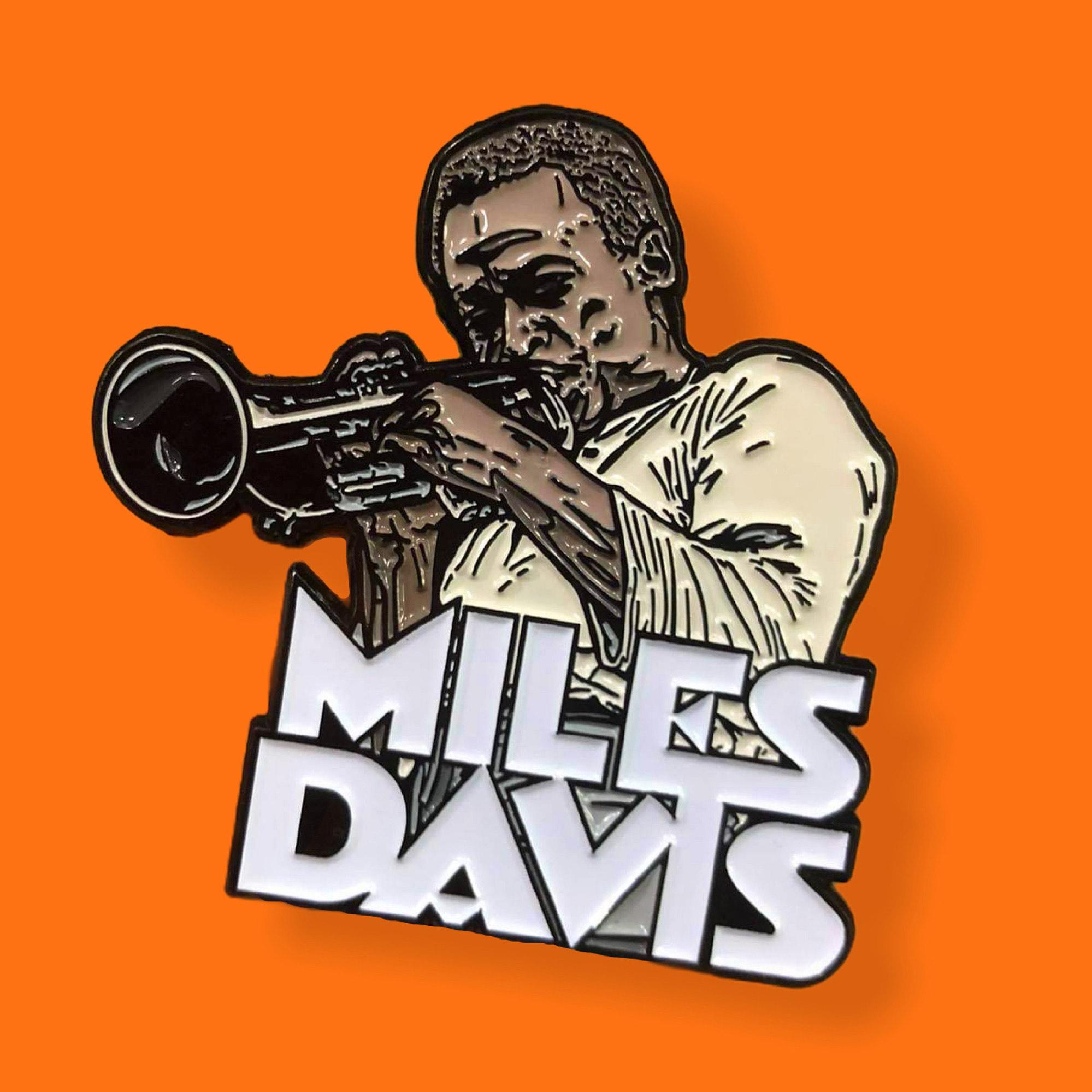 Miles Davis Enamel Pin