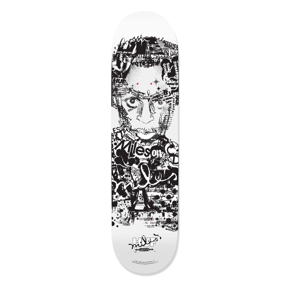 Miles Davis Vote For Miles Skateboard Deck