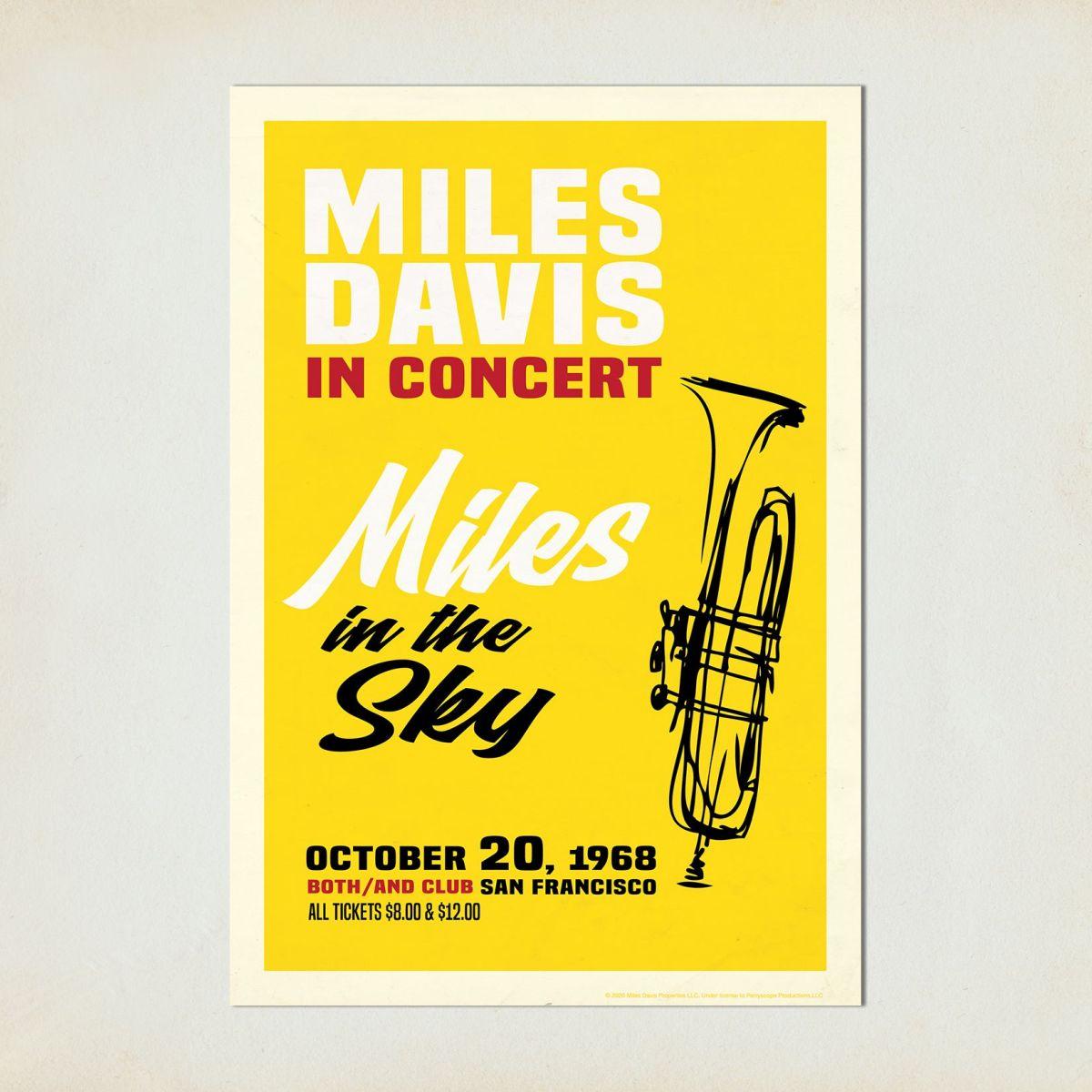 San Francisco, 1968 Concert Print