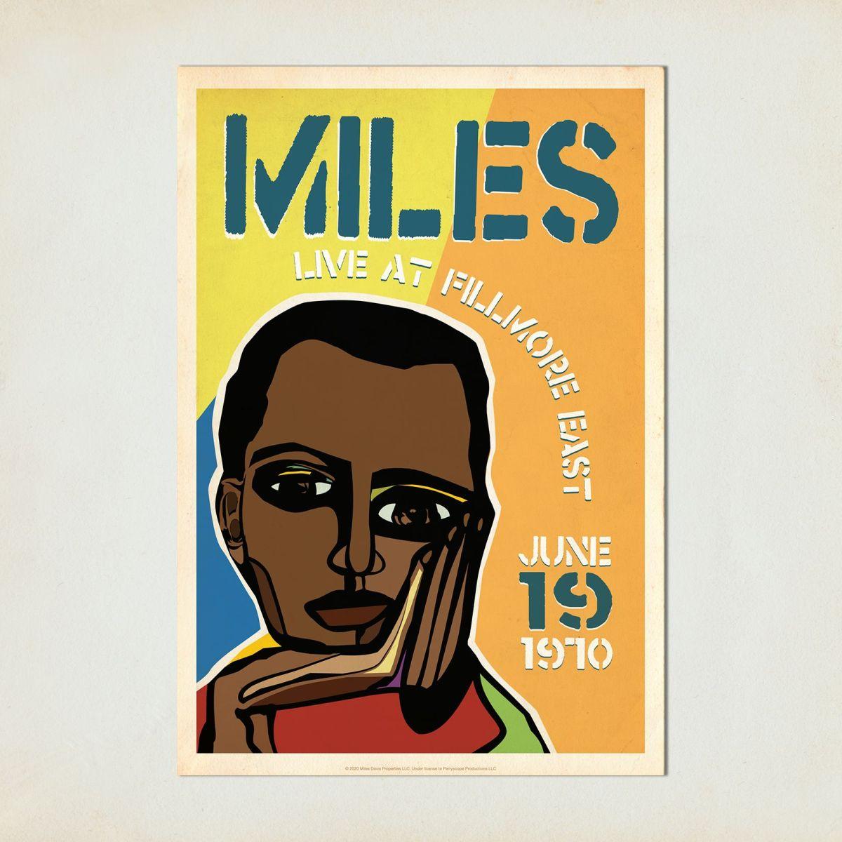 Miles Live at the Fillmore East, Cubism Concert Print
