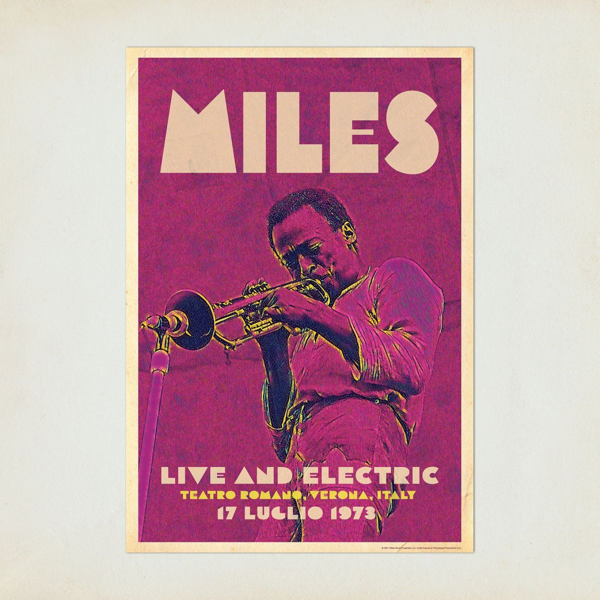 Miles Live in Italy