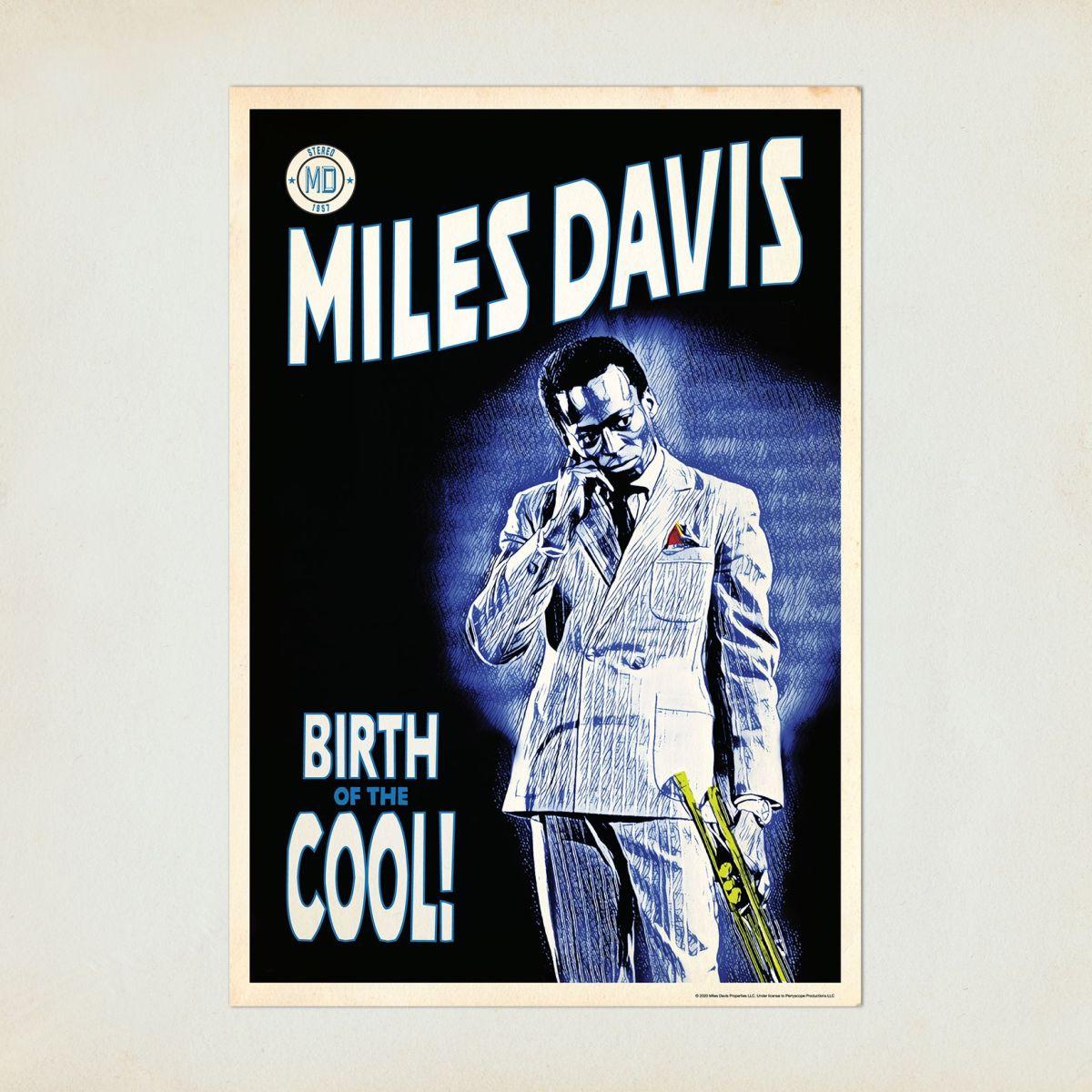 Miles Davis Birth of the Cool Graphic