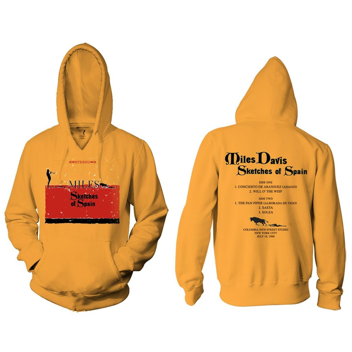 Miles Davis Sketches of Spain Hoodie