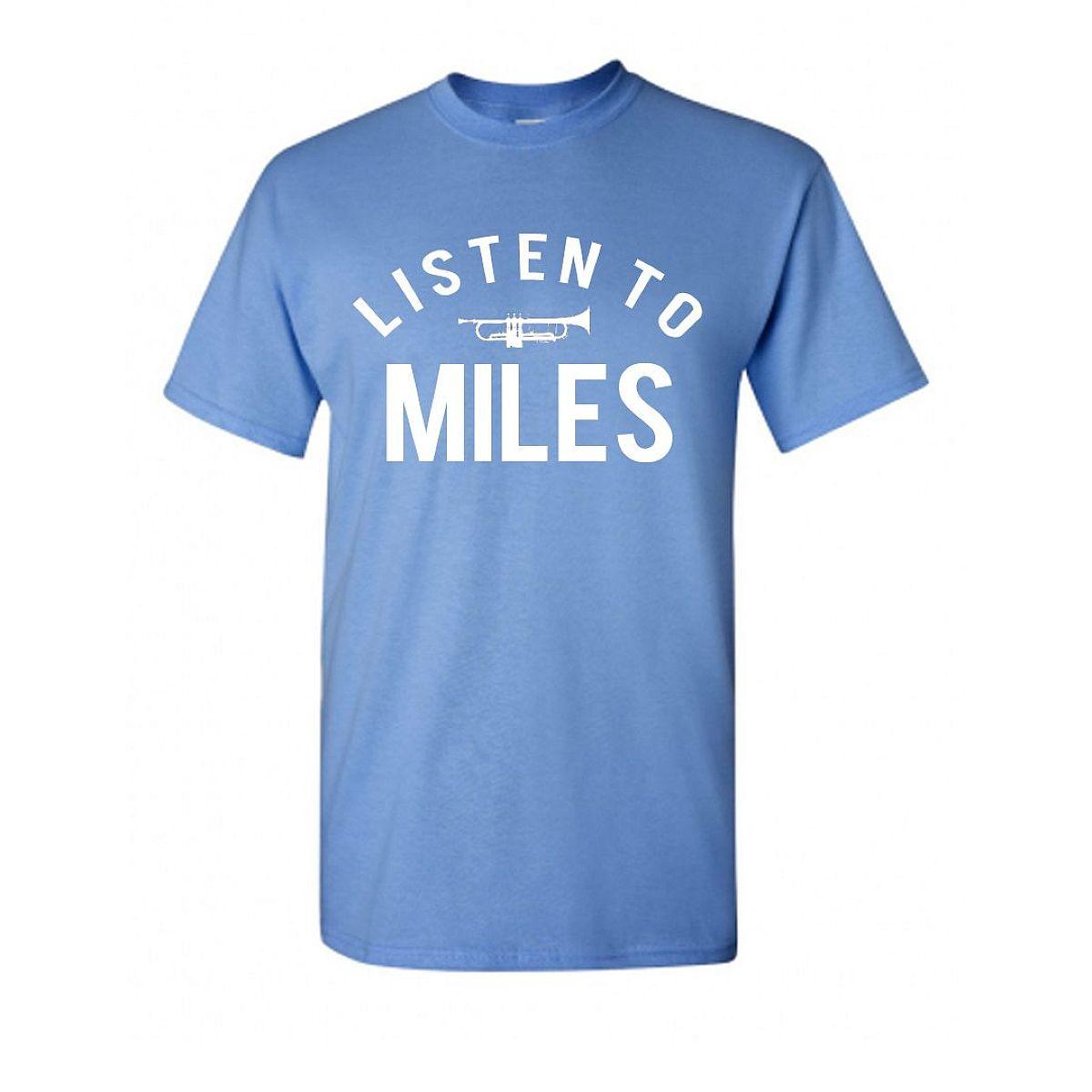 Listen To Miles Trumpet Tee
