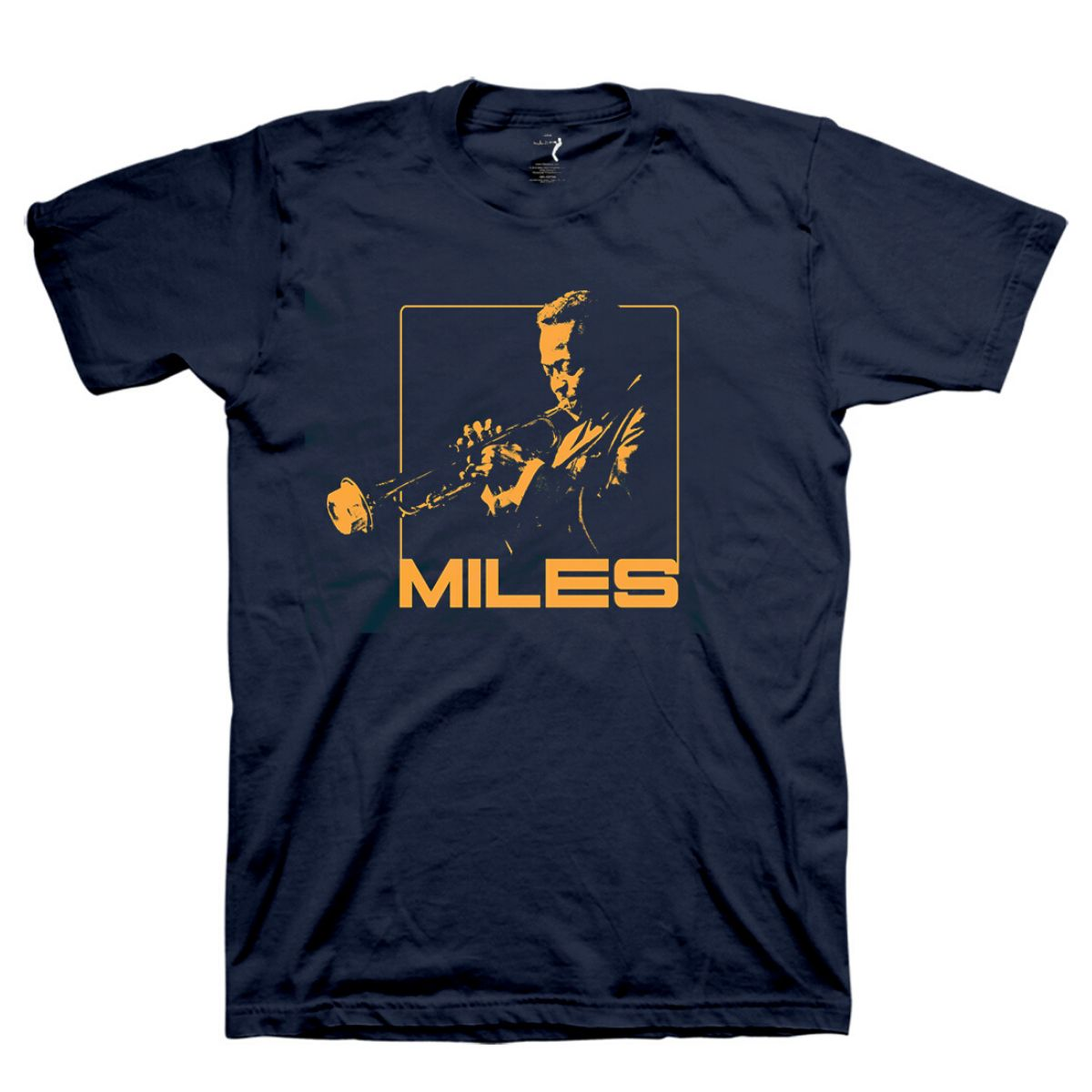 Miles In Mono T-Shirt: Orange