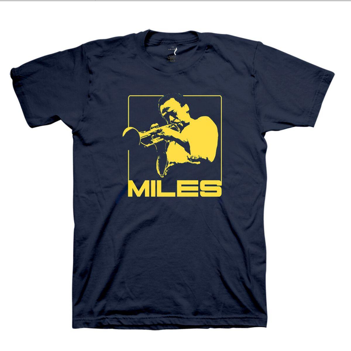 Miles In Mono T-Shirt: Yellow