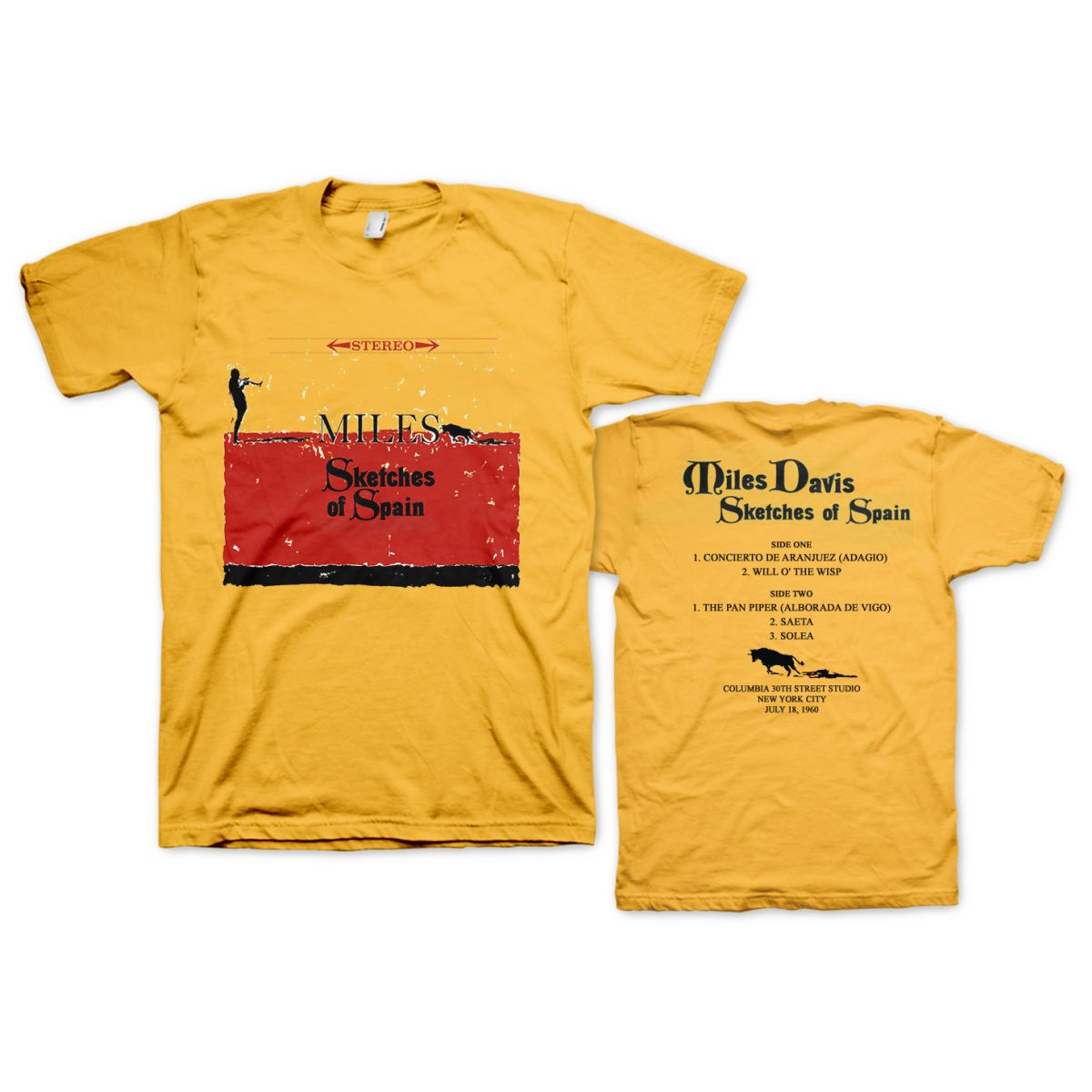 Miles Davis Sketches of Spain T-shirt