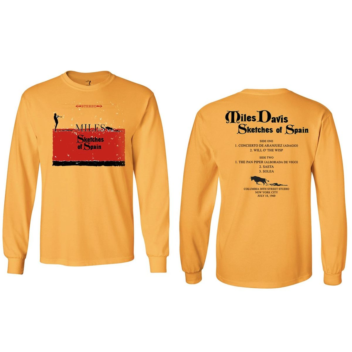 Miles Davis Sketches of Spain Longsleeve T-shirt