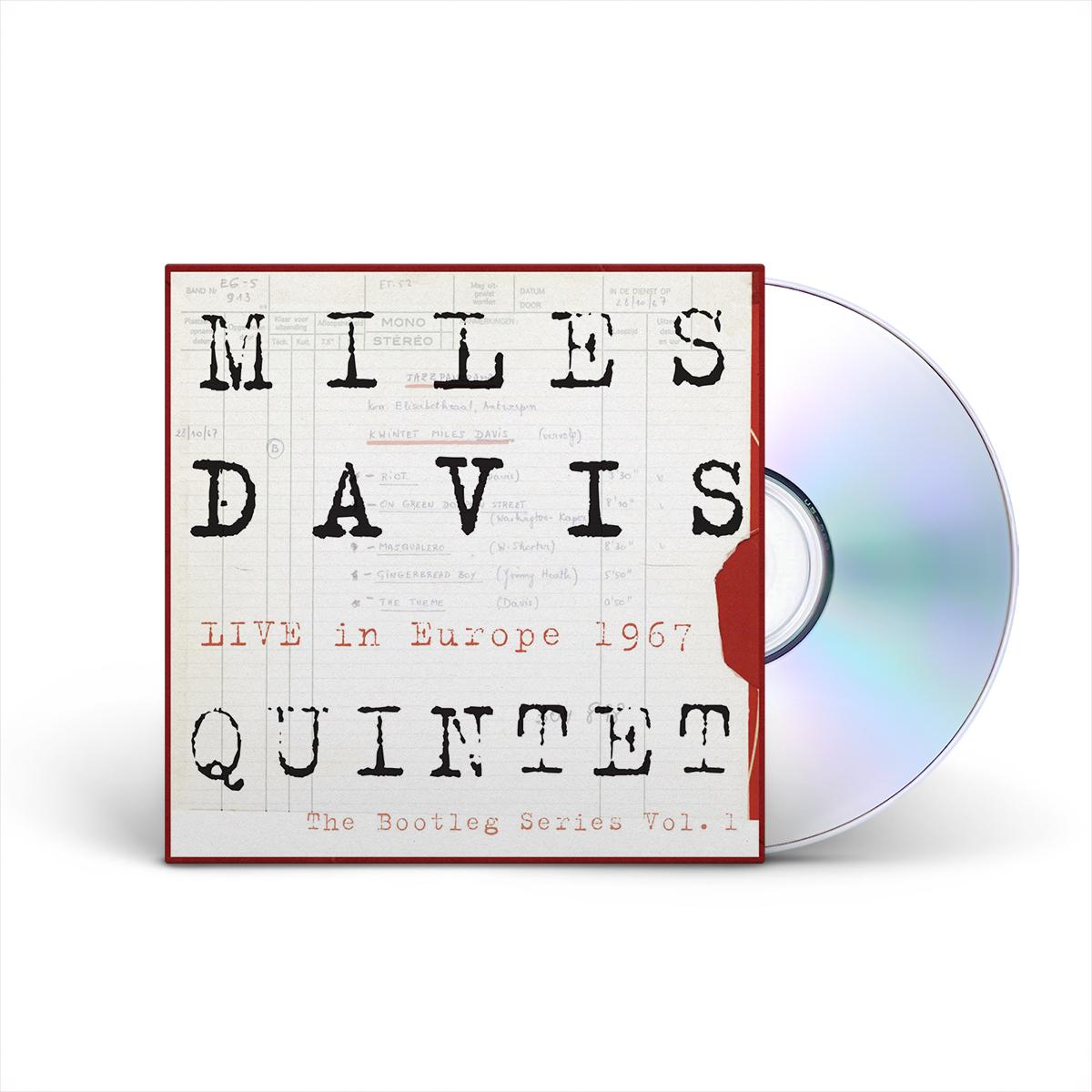 Miles Davis Quintet:  Live In Europe 1967:  The Bootleg Series, Vol. 1 4-disc CD