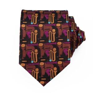 Miles Davis Bitches Brew Tie