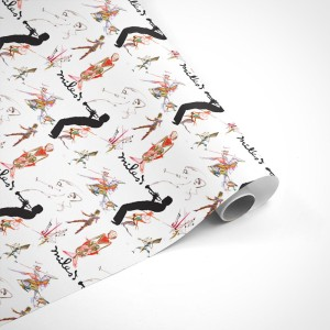 Miles Davis Silhouette Wrapping Paper