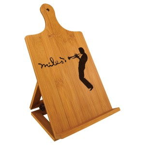 Laser-Etched Silhouette Cookbook Easel