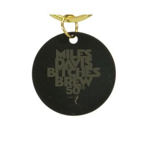 Bitches Brew 50 Laser Engraved Brass Keychain