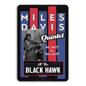 Miles Davis Quintet Concert Sign