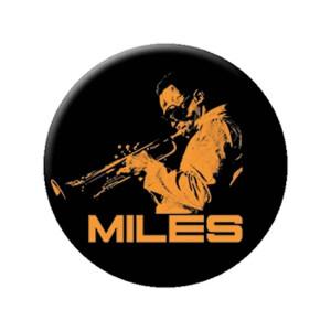 "Miles Davis Trumpet 1.25"" Button"