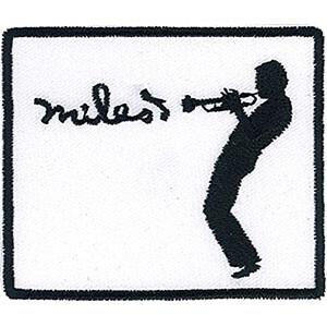 "Miles Davis Silhouette 3""x2.6"" Patch"