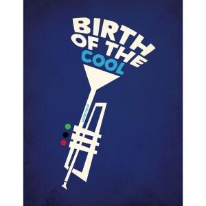 Miles Davis Birth of the Cool Trumpet Birthday Card