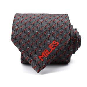 Grey Miles Davis Trumpet Tie