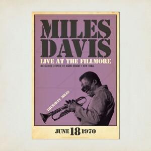 Miles Live at the Fillmore, Thursday Night Print