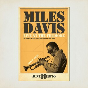 Miles Live at the Fillmore, Friday Night Print