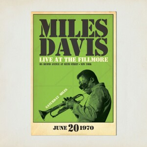 Miles Live at the Fillmore, Saturday Night Print
