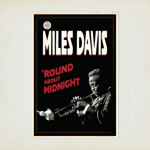 Miles Davis 'Round About Midnight Graphic
