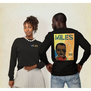 Miles Live at the Fillmore East 50th Anniversary Cubism Crewneck Sweatshirt