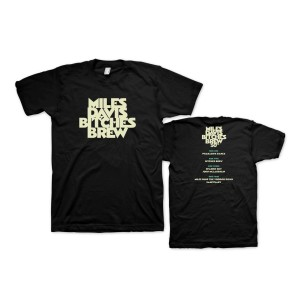 Miles Davis Bitches Brew 50th Anniversary Black T-shirt