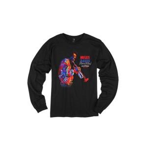 Miles Davis Merci Miles! Grooving Longsleeve T-Shirt