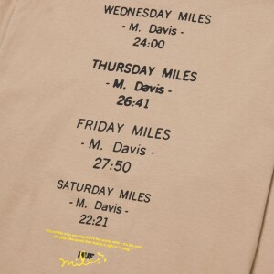 Miles Davis At Fillmore Longsleeve Tee